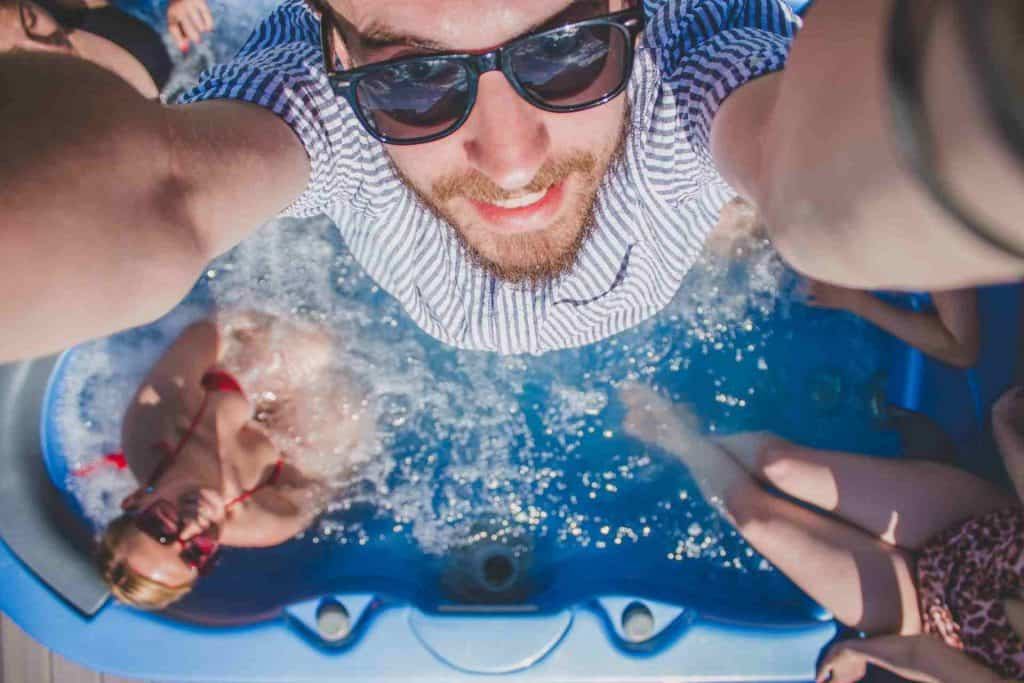 Why Its Best To Use An Inflatable Hot Tub During Winters